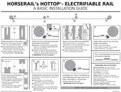 Hottop® Electrifiable Rail Installation Guide