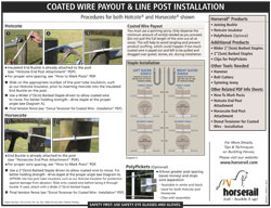 Payout & Line Post Installation