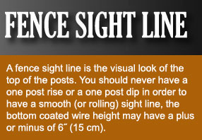 Fence Sight Line